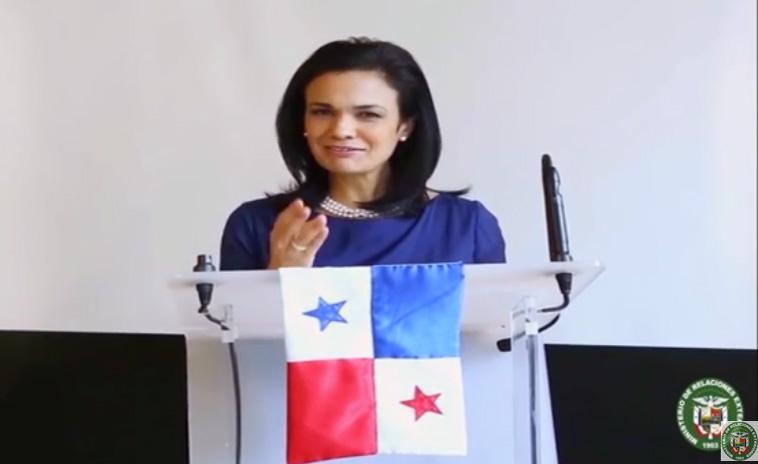 Message de la Vice président et chancelier de Panama