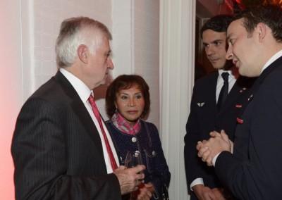 Embajadora de Peru en Francia, SE Cristina Laboureix