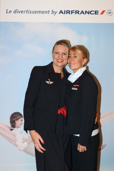 Azafatas de Air France