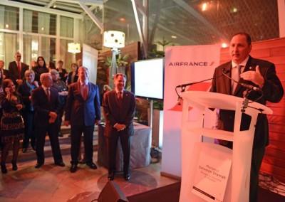 Conferencia de prensa del 21 de nov 2013: Embajador de Panama en Francia, SE Henry Faarup