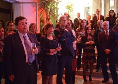 Embajador de El Salvador en Francia, S.E. Francisco Humberto Galindo Vélez , Maria Isabel Villegas Vargas, Consul General de Panama en Marsella