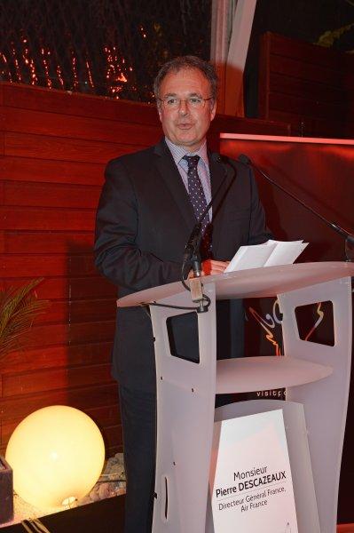 Conferencia de prensa del 21 de nov 2013: Pierre Descazeaux, Director General France de Air France