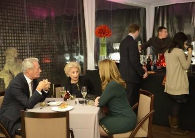 Embajador de Francia en Panama, SE Hugues Goisbeaux, Madame la Générale Madre y la Sra. Liz de Faarup