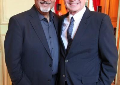 Omar Alfanno y Hernan Posada