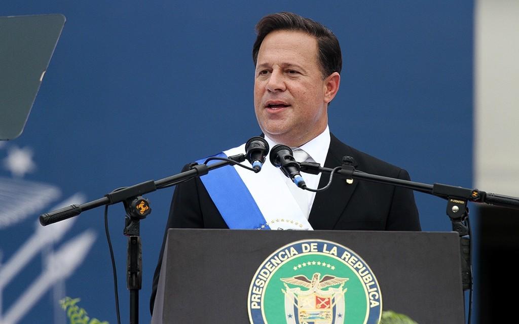 Paroles du Président Juan Carlos Varela lors de la cérémonie d'investiture