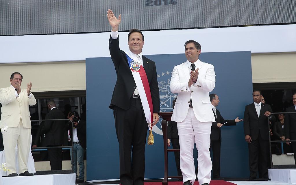 Juan Carlos Varela toma posesión de la Presidencia de Panamá