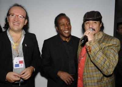 Alvaro Orozco y Roberto Burgos de Radio Latina