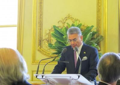 Embajador de Ecuador Carlos Jativa, Presidente del GRULAC