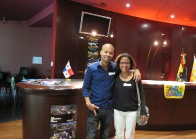 Chef Archbold y Mariana Pereira