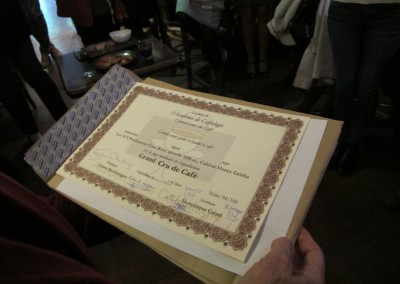 Diploma para la Casa Ruiz
