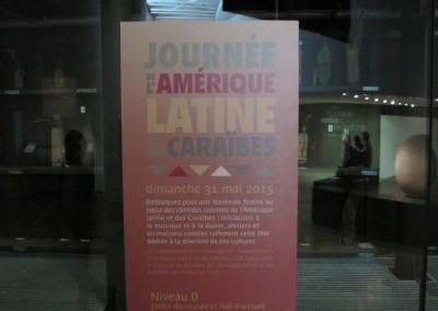 Museo del Quai Branly celebra el Dia de América Latina, 31 de mayo 2015