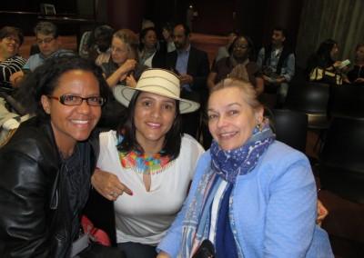 Mariana Pereira, Yadira Bonilla de Knab y Nela Sousa Dessagne