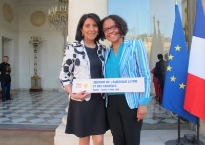 Jovita Maeder y Mariana Pereira