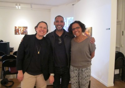Estefania Angeles, Humberto Vélez y Mariana Pereira