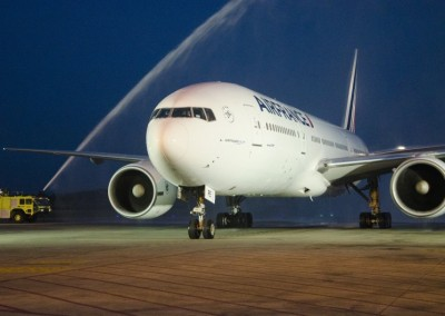 Inauguracion del vuelo Air France Paris Panama
