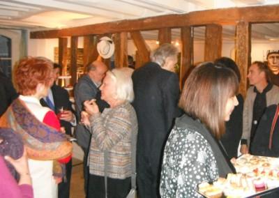 """Inauguración de la exposición """"Panamá de hoy"""" en la galería de la agencia de viajes Tour Square, en la ciudad de Versalles, el 10 de marzo 2016."""