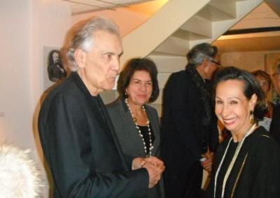 """Inauguración de la exposición """"Panamá de hoy"""" en la ciudad de Versalles."""