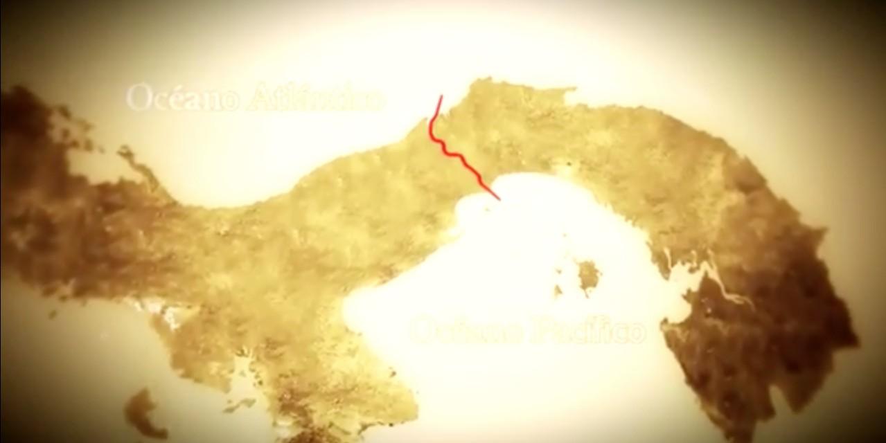 Video histórico sobre la construcción del canal de Panamá.