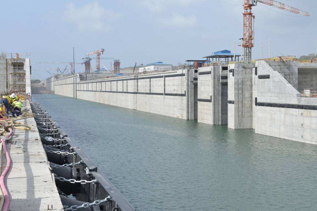 The new set of locks will open June 26. Autoridad del Canal de Panamá