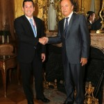 El Vicecanciller Luis Miguel Hincapié en Paris