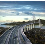 Construcción del cuarto puente sobre el Canal de Panamá