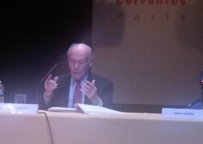 René de Obaldia en el Instituto Cervantes de París