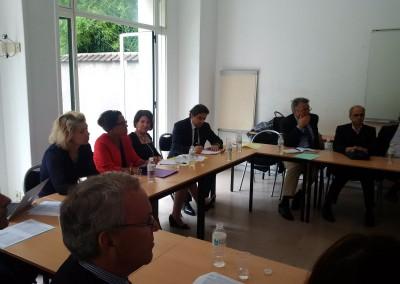 Conferencia en el Consejo Ejecutivo del IHEAL CREDA
