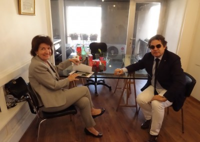 Visita al Consulado General de Marsella el 29 de julio