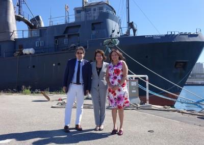 Visita al Consulado General de Marsella