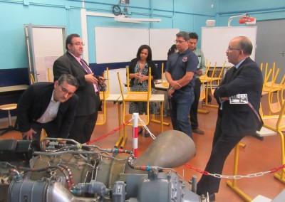 """Visita a Francia del Viceministro de Educación, Carlos Staff, en el marco del proyecto de los Institutos Superiores Técnicos de Panama""""."""
