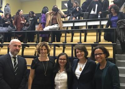 Conferencia de la Embajadora Pilar de Aleman en la Facultad de Derecho de Versalles