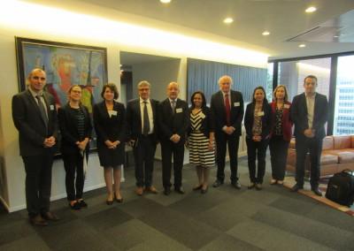 Visita a Francia del Viceministro de Educación de Panamá, Carlos Staff.