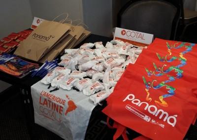Promoción del destino Panamá en conjunto con COPA Airlines en almuerzo de COTAL