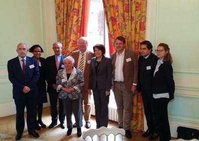 Presentación de Panamá a empresarios del MEDEF Normandie