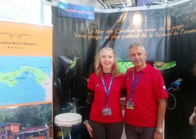 Panamá presente en la Feria internacional de buceo con Panama Reef Divers.
