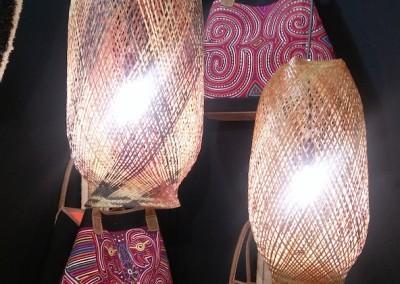 """Representación de Panamá en la Feria internacional """"Casa y objetos"""" de Paris -  Ethic&Tropic que expone artesanía fina de la comunidad Kuna y Embera"""