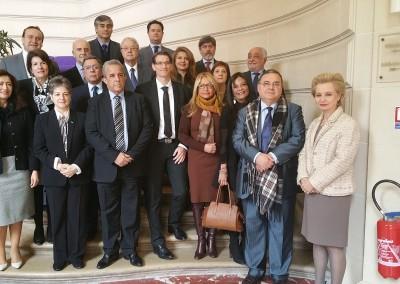 Almuerzo de los Embajadores de América latina en Paris al que asistió la Embajadora Pilar de Aleman