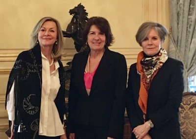 Embajadora Pilar de Alemán con sus homologas de Suecia y Dinamarca, SE Veronika Wand-Danielsson y SE Kirsten Malling Biering