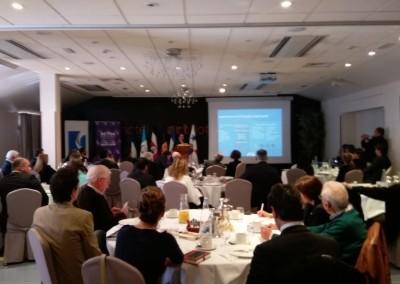 """Participación de Panamá al """"Foro Oportunidades de negocios entre Andorra y Centroamérica"""" seguido de una degustación de ron. Andorra, 15 de marzo 2017"""
