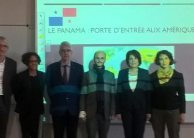 Conférence Le Panama: Porte d'entrée aux Amériques