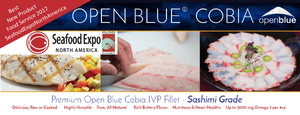 LE COBIA OPEN BLUE® REMPORTE LE PRIX DE L'EXCELLENCE