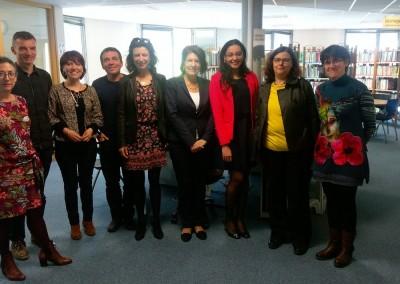Visita de la Embajadora Pilar de Alemán en AgropolisInternacional