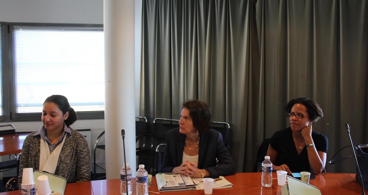 Visite de Mme l'Ambassadeure du Panama en France, à Agropolis