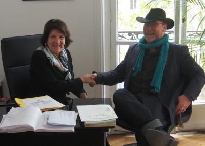 Entrevista con el periodista Hervé Dreiss, Redactor en Jefe del Periódico de la Marine Marchande