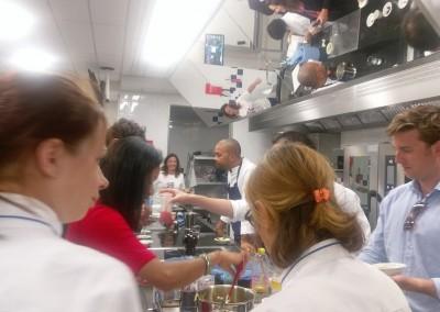 Taller del chef Joseph Archbold en Le Cordón Bleu, 30 de mayo 2017