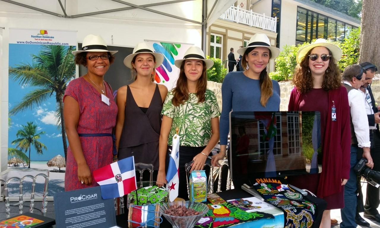 Promoción de Panamá en el Diplomatic Garden Party