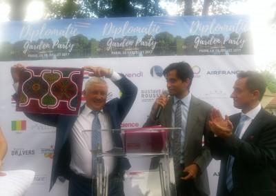 Promoción de Panamá en el Diplomatic Garden Party en ocasión de la Fiesta Nacional de Francia del 14 se julio.