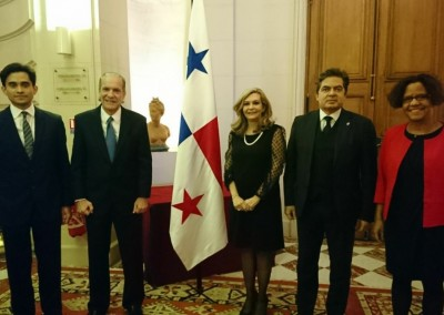 Fiesta Nacional del 3 de noviembre 2017 en la Casa de América Latina de Paris