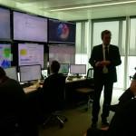 Visite du siège de la compagnie maritime CMA-CGM