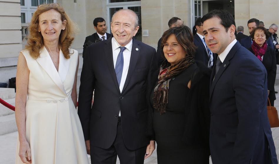 Panamá participa a la conferencia Ministerial No money for terror, sede de la OCDE, Paris.